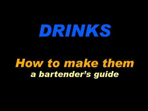 Product picture Barback (DRINKS - How to make them)