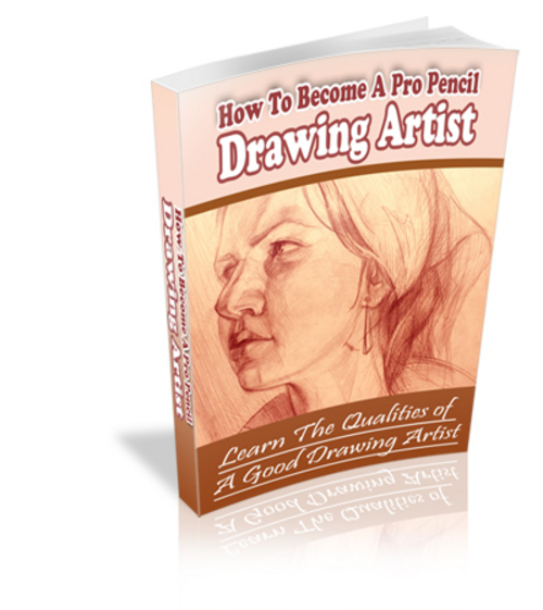 Product picture How To Become A Pro Pencil Drawing Artist